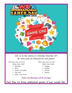 International Game Day